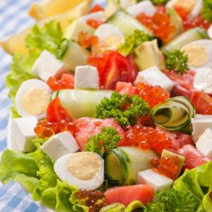 9.салат-форель